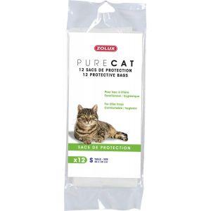 """12-sacs-de-protection-""""Pure-Cat""""-43x30cm"""