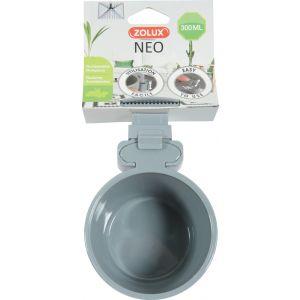 Mangeoire-Plastique-Neo-300ML-Gris