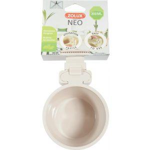 Mangeoire-Plastique-Neo-300ML-Beige