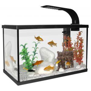 Aquarium-Scalaire-40-Noir-20L-+-Eclairage