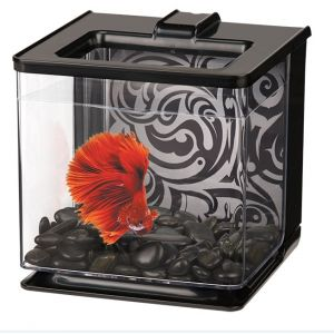 Aquarium-Betta-EZ-Care-Marina-Blanc-Noir