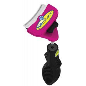 Brosse-Furflex-Chat-Outil-Tete-+-Manche-L-Deshedding-