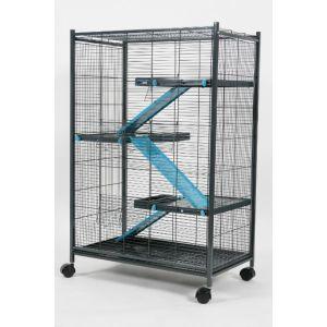 Cage-Indoor-Maxi-Loft-2---Bleu