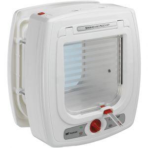 chatiere-electronique-avec-detecteur-swing-microchip-blanche-ferplast