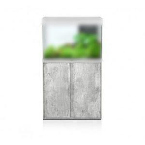 Meuble-aquarium-Elegance-Expert-80x40cm-chêne-blanc---Aquatlantis