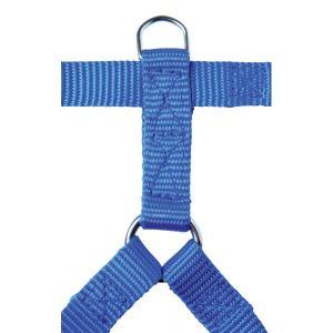 Harnais-nylon-15mm-30/45cm---Bleu