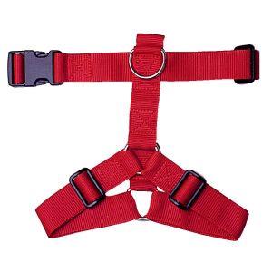 Harnais-nylon-20mm-40/60cm---Rouge