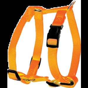 Harnais-Nylon-Réglable-10mm---Orange
