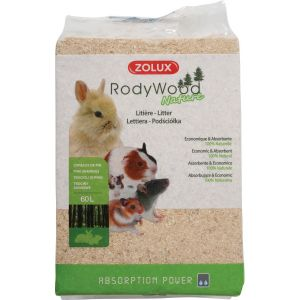 Litière-Rody-Wood-Nature-60-Litres---Zolux