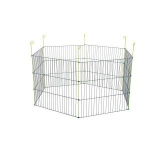 Parc-métal-extérieur-Hexagonal---Zolux