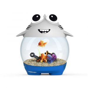 Aquarium-MyShark-Kid-7.5L-+-Filtre---Ciano
