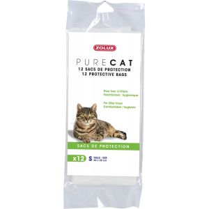"12-sacs-de-protection-""Pure-Cat""-50x38cm"