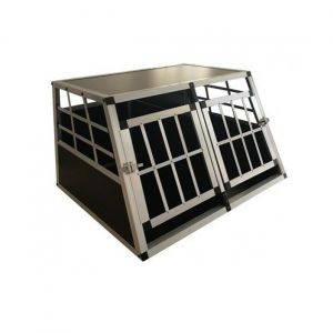 Cage-Transport-Chien-Double-Aluminium-Small