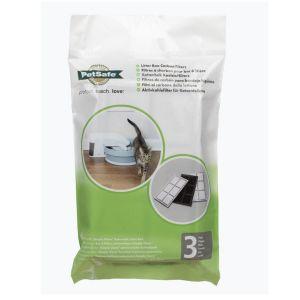 Filtres à charbon pour bac à litière chat automatique Simply Clean x 3 - PetSafe