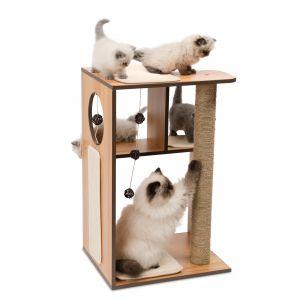 Arbre à chat Vesper V-Box Large Naturel
