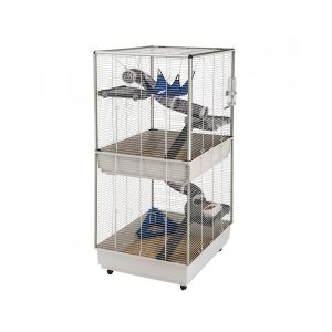 Cage-Furet-Tower-Gris