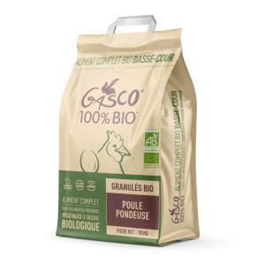 Granulés poule pondeuse Bio 10 kg - Gasco