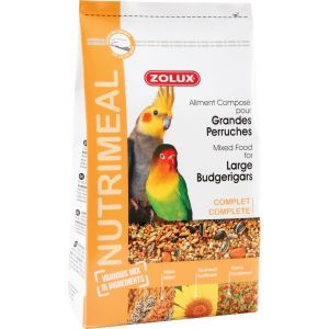 Aliment NutriMeal Grande Perruche 800Gr - zolux