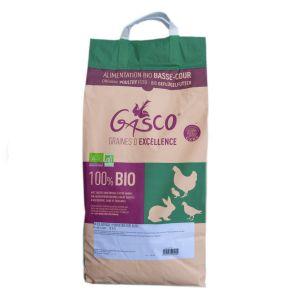 Mélange poule pondeuse Bio 8 kg Gasco