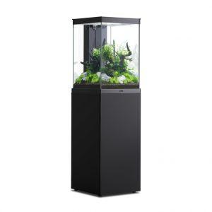 Aquarium poisson avec meuble Aqua Tower 96 noir - Aquatlantis