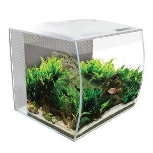 Aquarium-poisson-Flex-9-34-litres-blanc-avec-éclairage-à-LED-et-télécommande---Fluval