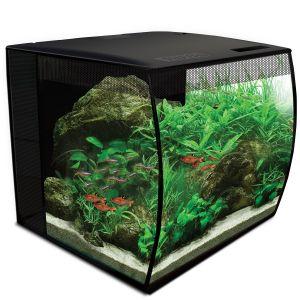 Aquarium poisson Flex 9 34 litres noir avec éclairage à LED et télécommande - Fluval