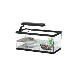 Aquarium pour tortue Aqua Tortum 40 noir - Aquatlantis