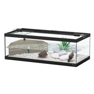 Aquaterrarium-tortues-aquatiques-Aqua-Tortum-75cm-Noir