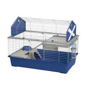 Cage-Rongeur-Barn-100-Bleu---Ferplast