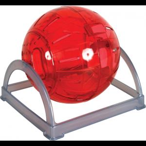 Boule-exercice-2-en-1-18cm---Cerise