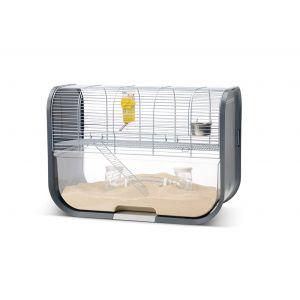 cage-complete-pour-gerbille-lugano-grise-avec-bac-transparent-savic