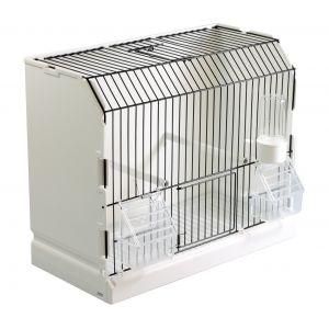 cage-exposition-grille-noir-mangeoires-exterieures