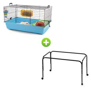 cage-lapin-cochon-d-inde-nero-2-bleu-marine-avec-pieds-savic