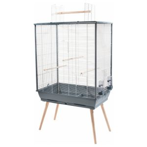Cage oiseaux Neo Jili XL grise - Zolux