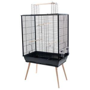 Cage oiseaux Neo Jili XL noire - Zolux