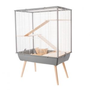 Cage Neo Cosy Grands Rongeurs Gris