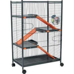 Cage-Indoor-Maxi-Loft-1---Orange