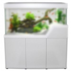Meuble-aquarium-Caraibes-120cm-blanc---Capac