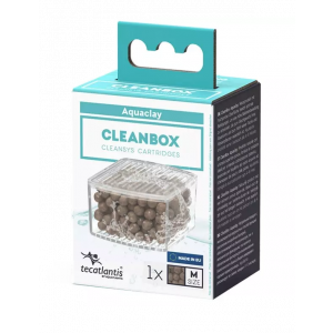 Recharge pour filtre d'aquarium poisson universel CleanBox Aquaclay M - Aquatlantis