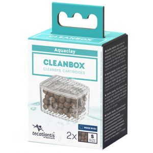 Recharge pour filtre d'aquarium poisson universel CleanBox Aquaclay S - Aquatlantis