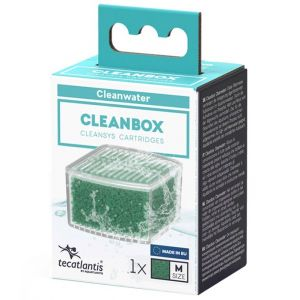 Recharge pour filtre d'aquarium poisson universel CleanBox Cleanwater M - Aquatlantis