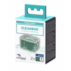 Recharge pour filtre d'aquarium poisson universel CleanBox Cleanwater S - Aquatlantis