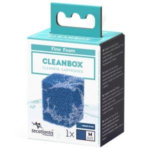 Recharge pour filtre d'aquarium poisson universel CleanBox Mousse Fine M - Aquatlantis