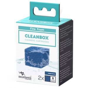 Recharge pour filtre d'aquarium poisson universel CleanBox Mousse Fine S - Aquatlantis