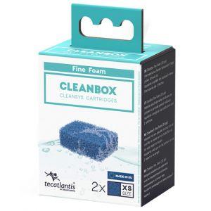 Recharge pour filtre d'aquarium poisson universel CleanBox Mousse Fine XS - Aquatlantis