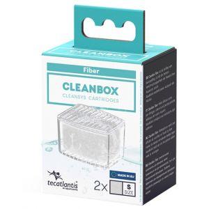 Recharge pour filtre d'aquarium poisson universel CleanBox Ouate S - Aquatlantis