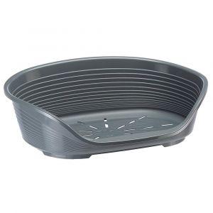 corbeille-plastique-siesta-deluxe-taille-10-gris-fonce