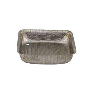 Crible acier inoxydable 0,6mm pour moulin Mistral