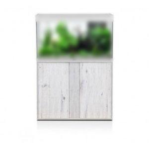 Meuble-aquarium-Elegance-Expert-100x40cm-chêne-blanc---Aquatlantis