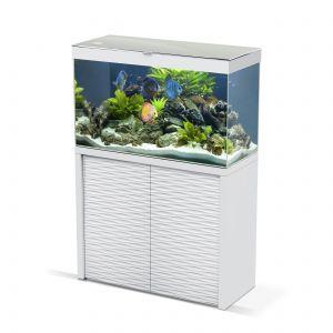 Aquarium Emotions Nature One 100 Blanc avec Meuble - Ciano